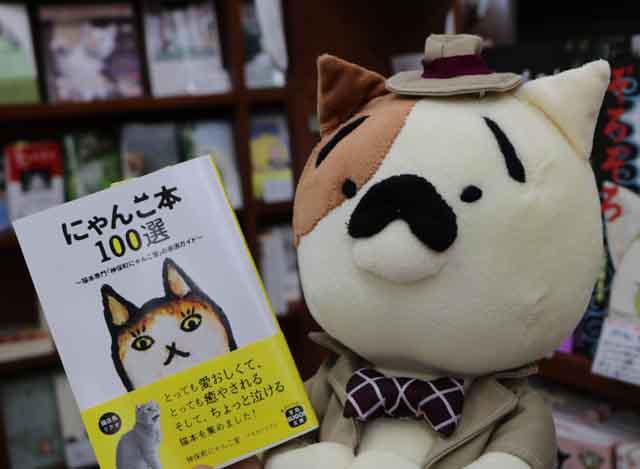 こちらが「ニャンダフルな猫の本100選」なのニャ~