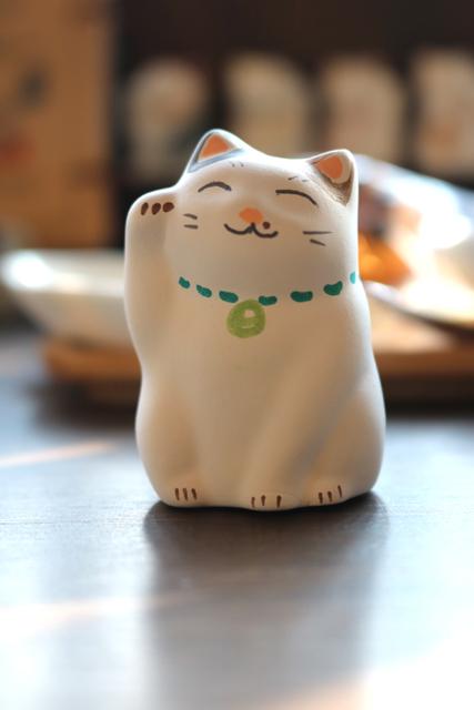 お客様の作品① 優しい表情のホクロ猫さん♡